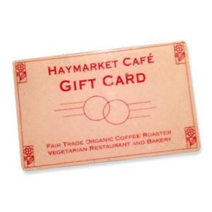 Haymarket Gift Card